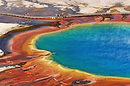 Grand Prismatic Spring, Midway Geyser Basin, Yellowstone NP, Wyoming (Estados Unidos)