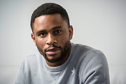 NEW YORK, NY -- 6/6/17 -- Nnamdi Asomugha, stars in the new film Crown Heights, based on the life of Colin Warner, who was wrongly incarcerated for over 20 years. Asomugha plays his best friend, Carl King in the film, which won the Audience Award at Sundance. The film is to be released August 25.…by André Chung #_AC18740