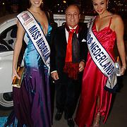 Miljonairfair 2004, Sanne de Regt, Joop Braakhekke en Miranda Slabber, Miss Nederland 2003