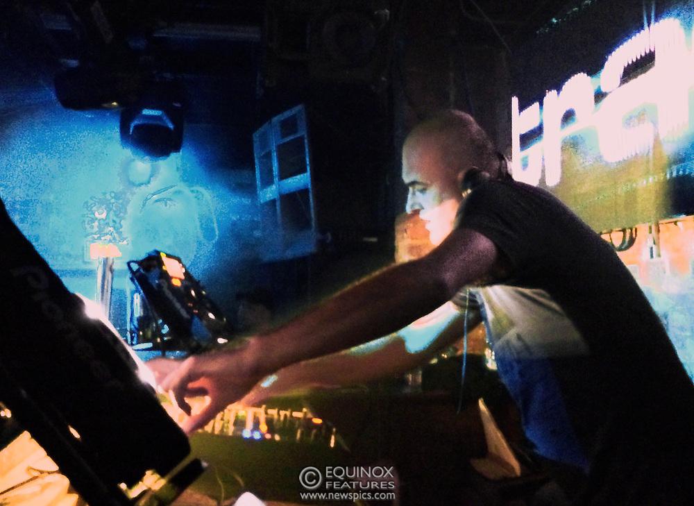 London, United Kingdom - 2 November 2013<br /> DJ Pete Wardman DJing at the 23rd birthday party for Trade gay club night at Egg nightclub, York Way, King's Cross, London, England, UK.<br /> Contact: Equinox News Pictures Ltd. +448700780000 - Copyright: ©2013 Equinox Licensing Ltd. - www.newspics.com<br /> Date Taken: 20131102 - Time Taken: 204930+0000