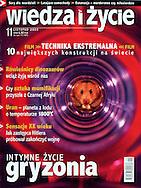 WIEDZA I ZYCIE (Poland), cover, 11/2003, Photography by Heidi and Hans-Juergen Koch/animal-affairs.com