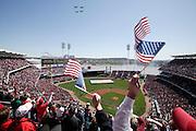 Opening day -- Great American Ballpark, Cincinnati, OH