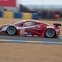 #81 Ferrari 458 Italia, Team AF Corse, Drivers: Perazzini/Cadei/Griffin, Le Mans 24H, 2012