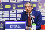 Marino Fernando<br /> Happycasa Basket Brindisi Presentazione Tau Lydeka<br /> Legabasket A 2017-2018<br /> Brindisi 08/02/2018<br /> Foto Ciamillo-Castoria / Gianni Giannuzzi