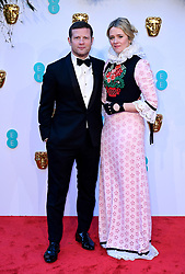 Dermot O'Leary and Edith Bowman attending the 72nd British Academy Film Awards held at the Royal Albert Hall, Kensington Gore, Kensington, London.