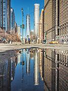 One World Trade Center in Manhattan, New York City.