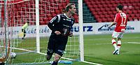 Fotball <br /> Adeccoligaen<br /> Gjemselunden Stadion <br /> 01.09.2013<br /> Kongsvinger  v Kristiansund <br /> Foto: Dagfinn Limoseth, Digitalsport<br /> Andreas Rødsand  , Kristiansund  reduserte til 4-1