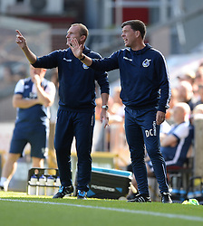 Darrell Clarke manager of Bristol Rovers gives his players directions during the first half. - Mandatory by-line: Alex James/JMP - 17/09/2016 - FOOTBALL - Coral Windows Stadium - Bradford, England - Bradford City v Bristol Rovers - Sky Bet League One