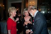 ELIZABETH AITKEN; LADY RAYNE; PRINCE MICHAEL OF KEN, Book launch of Lady Annabel Goldsmith's third book, No Invitation Required. Claridges's. London. 11 November 2009