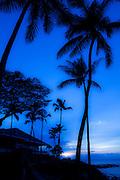 Merrimans Restaurant, Sunset, Kapalua Beach, Maui, Hawaii