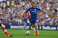 Football - 2017 / 2018 FA Cup - Semi Final: Chelsea vs. Southampton<br /> <br /> Eden Hazard of Chelsea sets up another attack at Wembley Stadium <br /> <br /> COLORSPORT/SHAUN BOGGUST