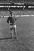 Cork player warming up before kick off at the All Ireland Senior Hurling Final, Cork v Kilkenny in Croke Park on the 3rd September 1972. Kilkenny 3-24, Cork 5-11.