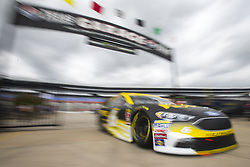 April 6, 2018 - Ft. Worth, Texas, United States of America - April 06, 2018 - Ft. Worth, Texas, USA: Trevor Bayne (6) comes in from practice for the O'Reilly Auto Parts 500 at Texas Motor Speedway in Ft. Worth, Texas. (Credit Image: © Stephen A. Arce Asp Inc/ASP via ZUMA Wire)