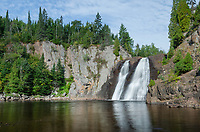High Falls of the Baptism River. Tettegouche State Park, Norrth Shore Minnesota
