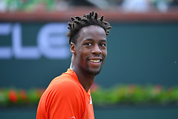 March 9, 2019 - Indian Wells, USA - Gael Monfils (Credit Image: © Panoramic via ZUMA Press)