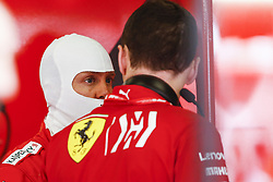 May 10, 2019 - Barcelona, Catalonia, Spain - Sebastian Vettel, team Ferrari during F1 Grand Prix free practice celebrated at Circuit of Barcelona 10th May 2019 in Barcelona, Spain. (Credit Image: © Mikel Trigueros/NurPhoto via ZUMA Press)