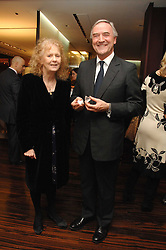MARY WARD Co-Founder of Chickenshed and ANDREW COXON president of the De Beers Institute of Diamonds at a Valentine's Party in aid of Chickenshed held at De Beers, 50 Old Bond Street, London W1 on 6th Fbruary 2008.<br /><br />NON EXCLUSIVE - WORLD RIGHTS