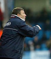 Photo: Kevin Poolman.<br />Colchester United v Bradford City. Coca Cola League 1. 04/02/2006. <br />Bradford boss Colin Todd.