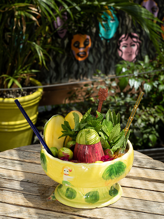 Brooklyn, NY - May 12, 2021: Cocktails by Shannon Mustipher using Dole juices.<br /> <br /> Photos by Clay Williams.