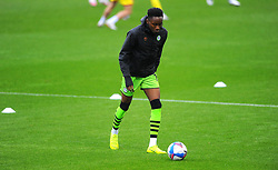 Shaun McCoulsky of Forest Green Rovers warms up prior to kick-off- Mandatory by-line: Nizaam Jones/JMP - 03/10/2020 - FOOTBALL - the innocent [insert name here] stadium - Nailsworth, England - Forest Green Rovers v Walsall - Sky Bet League Two