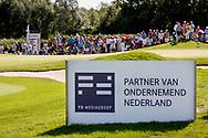 10-09-2016 Foto's van het KLM Open 2016, gehouden op The Dutch in Spijk van 8 t/m 11 september.<br /> Foto: Bord Partner van Ondernemend Nederland.
