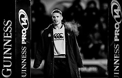 Cardiff Blues' Harri Millard<br /> <br /> Photographer Simon King/Replay Images<br /> <br /> Guinness Pro14 Round 9 - Cardiff Blues v Connacht Rugby - Friday 24th November 2017 - Cardiff Arms Park - Cardiff<br /> <br /> World Copyright © 2017 Replay Images. All rights reserved. info@replayimages.co.uk - www.replayimages.co.uk