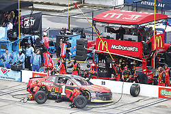 July 22, 2018 - Loudon, New Hampshire, United States of America - Jamie McMurray (1) comes down pit road for service during the Foxwoods Resort Casino 301 at New Hampshire Motor Speedway in Loudon, New Hampshire. (Credit Image: © Justin R. Noe Asp Inc/ASP via ZUMA Wire)
