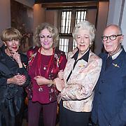 NLD/Amsterdam/20130921 - Uitreiking Awards, Marthe Roling, Ellen Vogel, Hans van Manen en Anneke Grönloh
