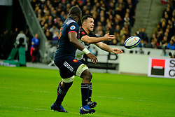 November 11, 2017 - Saint Denis, Seine Saint Denis, France - New Zealand team Flanker SAM CANE in action during the friendly match between France and New Zealand at the Stade de France - St Denis - France.New Zealand beats France 38-18 (Credit Image: © Pierre Stevenin via ZUMA Wire)