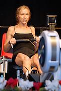 Dresden, GERMANY,  Dresden, GERMANY, US Indoor Rowing Team, Joan VAN BLOM, competing at the  European Indoor Rowing Championships, Margon Arena,  15/12/2007 [Mandatory Credit Peter Spurrier/Intersport Images