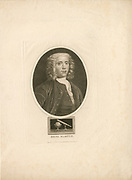 'Benjamin Martin (1704-1782) English lexicographer, compiler of an English dictionary (1749), scientific instrument maker, and lecturer on science. Engraving c1815.'