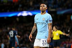 Gabriel Jesus of Manchester City  - Mandatory by-line: Matt McNulty/JMP - 17/10/2017 - FOOTBALL - Etihad Stadium - Manchester, England - Manchester City v Napoli - UEFA Champions League Group F