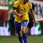 Leandro Damiao, Brazil, in action during the USA V Brazil International friendly soccer match at FedEx Field, Washington DC, USA. 30th May 2012. Photo Tim Clayton