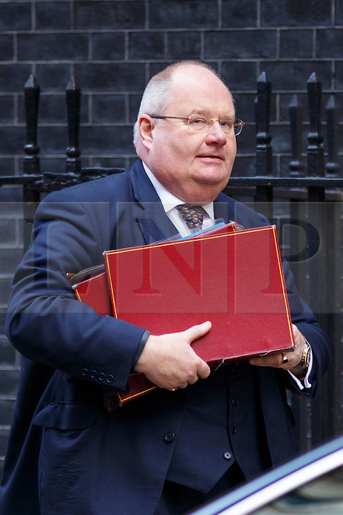 © Licensed to London News Pictures. 04/11/2014. LONDON, UK. Communities Secretary Eric Pickles attending to a cabinet meeting in Downing Street on Tuesday 4 November 2014. Photo credit: Tolga Akmen/LNP