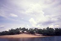 Rio Cinaruco y medanos, Parque Nacional Cinaruco-Capanaparo, Apure, Venezuela