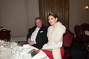 THE DUKE OF RUTLAND; ANDREA DUBEUX-WEBB, The Royal Caledonian Ball 2017, Grosvenor House, 29 April 2017
