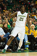 WACO, TX - JANUARY 24: Taurean Prince #21 of the Baylor Bears shoots a three-pointer against the Oklahoma Sooners on January 24, 2015 at the Ferrell Center in Waco, Texas.  (Photo by Cooper Neill/Getty Images) *** Local Caption *** Taurean Prince