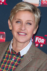 Ellen DeGeneres launches the Duracell Power a Smile Program at the Van Nuys Airport in Van Nuys, Los Angeles, CA, USA, November 22, 2013. Photo by Baxter/ABACAPRESS.COM  | 423693_010 Culver City Etats-Unis United States