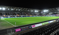 General view of the Liberty Stadium - Mandatory by-line: Nizaam Jones/JMP- 17/01/2018 - FOOTBALL - Liberty Stadium- Swansea, Wales - Swansea City v Wolverhampton Wanderers - Emirates FA Cup third round proper