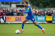 AFC Wimbledon defender Terell Thomas (6) dribbling during the EFL Sky Bet League 1 match between AFC Wimbledon and Bolton Wanderers at the Cherry Red Records Stadium, Kingston, England on 7 March 2020.