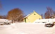 Winter Snow, Cumru Township, Berks Co.,  PA