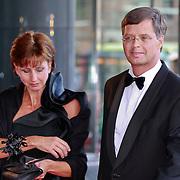 NLD/Amsterdam/20110527 - 40ste verjaardag Prinses Maxima,  oud premier Jan Peter Balkenende en partner Bianca Hoogendijk