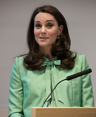 The Duchess of Cambridge attends a Childrens' early years symposium - 21 March 2018