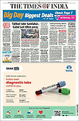 August 14, 2021 - ASIA-PACIFIC: Front-page: Today's Newspapers In Asia-Pacific