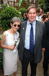 LORD & LADY IRVINE OF LAIRG at the annual Macmillan Cancer Support House of Lords vs the House of Commons Tug of War held in Victoria Tower Gardens on 20th June 2006.<br /><br />NON EXCLUSIVE - WORLD RIGHTS
