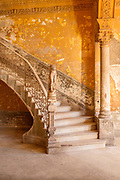 Staircase with ornate stairs leading to La Guarida Paladar, Havana