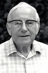Portait of elderly man UK 1995
