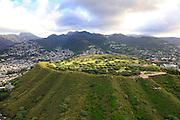 Punchbowl, National Cemetery of the Pacific, Honolulu, Oahu, Hawaii