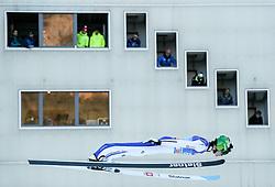 31.12.2016, Olympiaschanze, Garmisch Partenkirchen, GER, FIS Weltcup Ski Sprung, Vierschanzentournee, Garmisch Partenkirchen, Qualifikation, im Bild Peter Prevc (SLO) // Peter Prevc of Slovenia during his Qualification Jump for the Four Hills Tournament of FIS Ski Jumping World Cup at the Olympiaschanze in Garmisch Partenkirchen, Germany on 2016/12/31. EXPA Pictures © 2016, PhotoCredit: EXPA/ Jakob Gruber