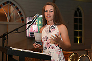 Natalie Dodd, Hinds One day player of the year, Central Districts Cricket Awards Dinner, The Old Church, Napier, Friday, March 22, 2019. Copyright photo: Kerry Marshall / www.photosport.nz